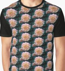 DRENCHED IN DEW PINK ROSE Graphic T-Shirt