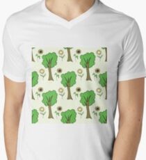 cute forest pattern with flowers and tree T-Shirt