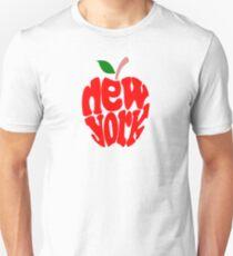 Großer Apfel New York Slim Fit T-Shirt