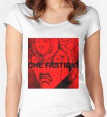 KING CRIMSON PIENO DI FASTIDIO Women's Fitted Scoop T-Shirt