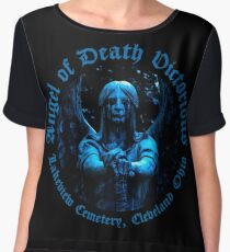 Angel of Death Victorious Chiffon Top