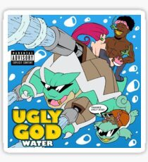 Ugly God - Water Sticker