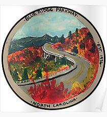 Blue Ridge Parkway- Viaduct Poster