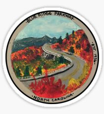 Blue Ridge Parkway- Viaduct Sticker