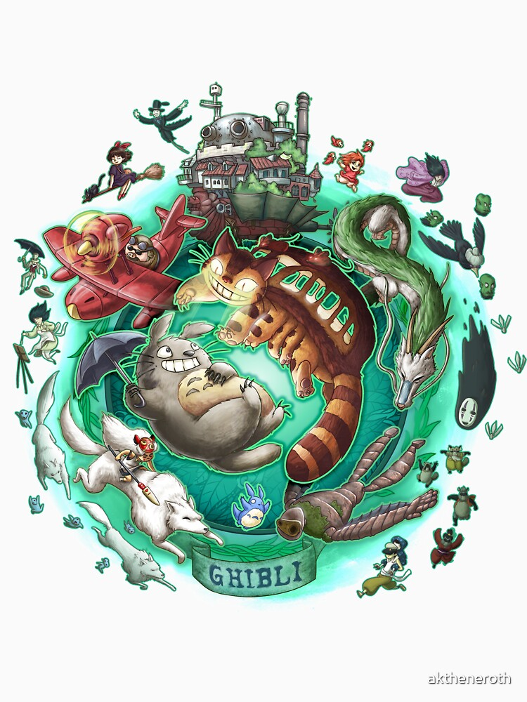 Ghibli Tribute by aktheneroth