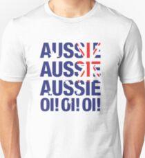 Aussie Aussie Aussie Oi! Oi! Oi! Unisex T-Shirt