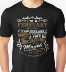 I'm a February woman shirt T-Shirt
