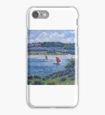 Balon River, Fnistere, , by Henri Moret  iPhone Case/Skin