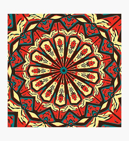 Spanish Mandala Photographic Print