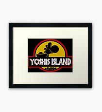 YOSHIS ISLAND Framed Print