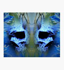 Etheral Skulls Photographic Print