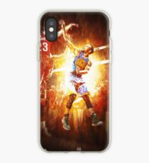 "Stephen Curry ""Human Torch"" iPhone Case"