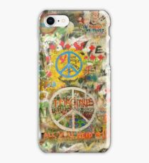 The Beatles iPhone Case John Lennon Peace Sign 7, 6, 5, 4s, 4, 3gs, 3 Imagine All You Need is Love iPhone Case/Skin