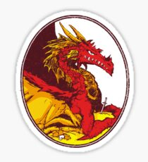 Ancient Red Dragon Sticker