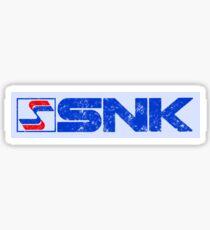 SNK (Distressed Logo) Sticker