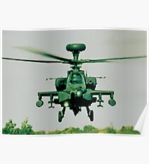 Army Green Apache Poster