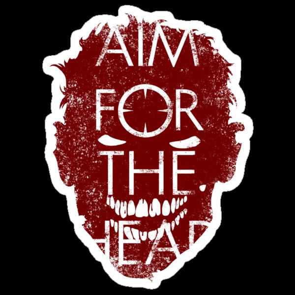 AIM FOR THE HEAD - Zombie advice by R-evolution GFX