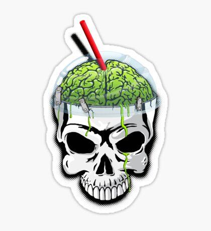 Zombie Brain Slushee Sticker
