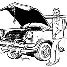 Havana mechanic by Grant Forbes