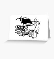 Havana mechanic Greeting Card