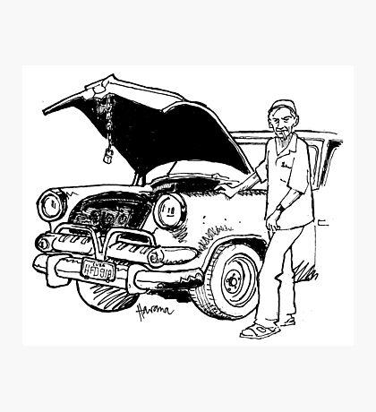 Havana mechanic Photographic Print