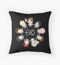 EXO  Throw Pillow