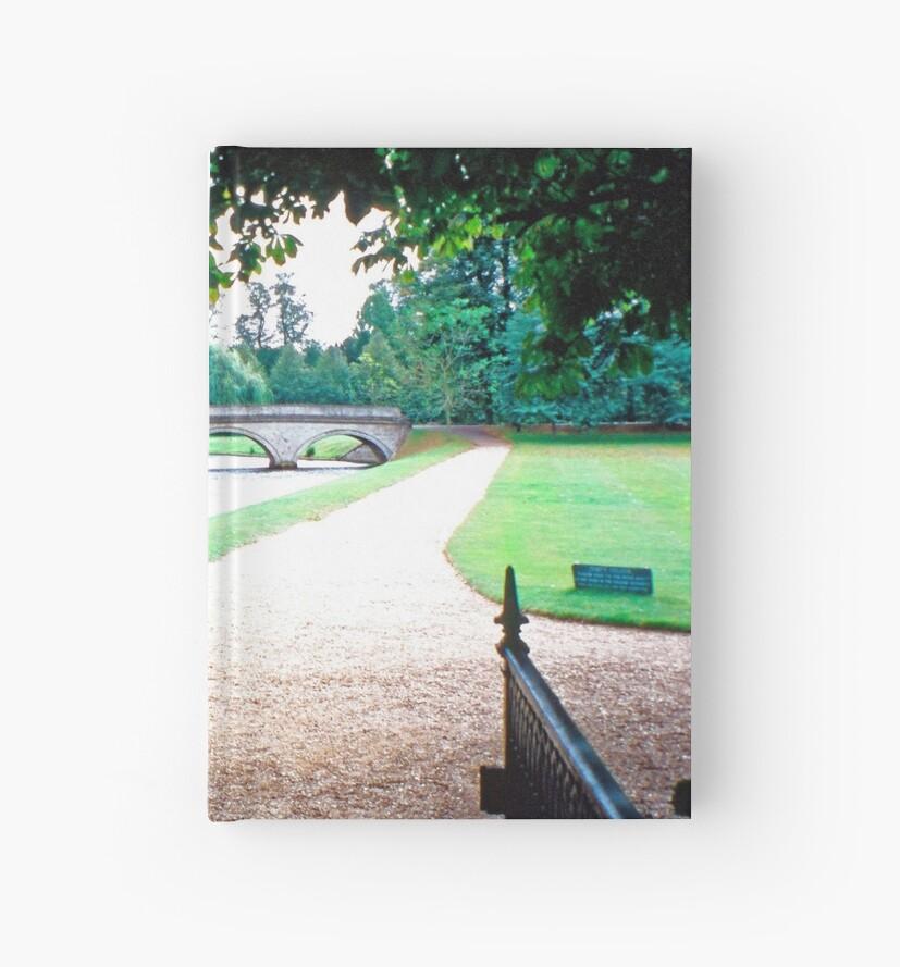 25 Looking towards Trinity College, Cambridge by Priscilla Turner
