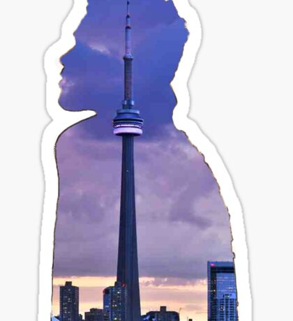 The Weeknd x Toronto Sticker