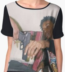 Playboi Carti Women's Chiffon Top