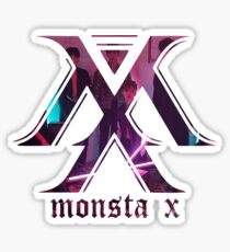 monsta-x lost logo Sticker