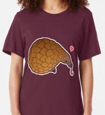 Pangolin Love Slim Fit T-Shirt