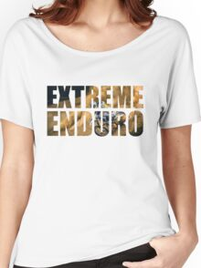 Extreme Enduro, Motocross Tee Shirt Women's Relaxed Fit T-Shirt