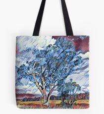 Australian Windswept Tree 02 Tote Bag