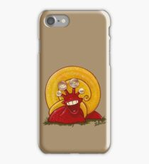 Turbo snail - acrylic, pearl buttons iPhone Case/Skin