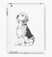 Pen and Ink Beagle iPad Case/Skin