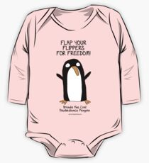 Brenda the Civil Disobedience Penguin One Piece - Long Sleeve