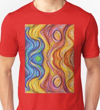 Mask #DeepDream #Art T-Shirt
