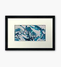Blue Coral 2 Framed Print