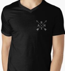 BTS Army Cross Men's V-Neck T-Shirt