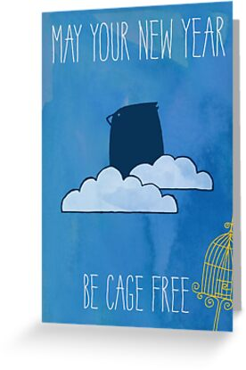 May Your New Year Be Cage Free by Deirdre Saoirse Moen