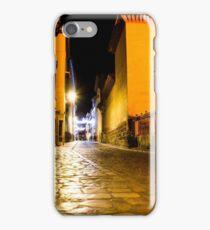 Nocturnal empty street iPhone Case/Skin
