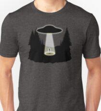 Alien Abduction UFO InThe Woods T-Shirt