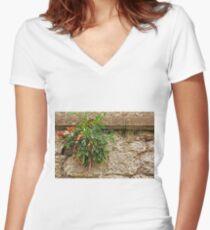 Stonewall Wonder ©  Women's Fitted V-Neck T-Shirt
