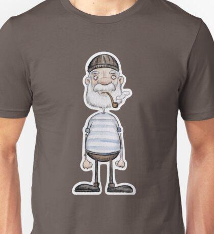 Ahoi Seemann - Aquarell  Katz & Tinte Unisex T-Shirt