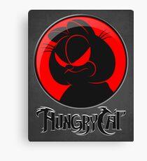 HungryCat. Canvas Print