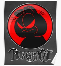 HungryCat. Poster