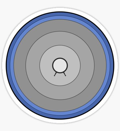 Back to the Future giant Speaker -minimalistic- Sticker