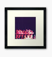 80s icons Framed Print