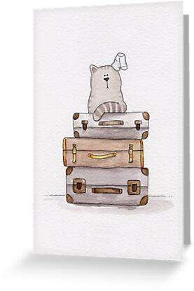 Don't go - Cat | Katz & Tinte von katzundtinte