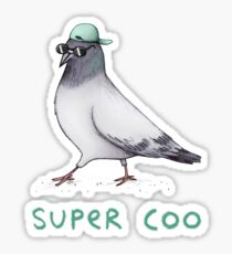 Super Coo Sticker